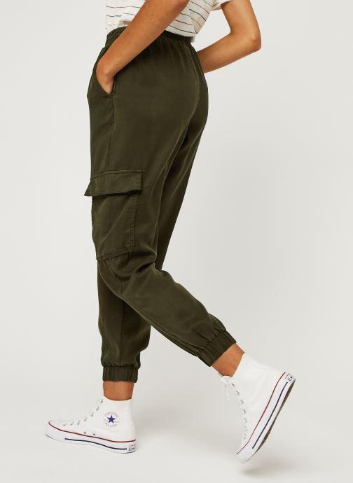 Vêtements Vila Vilisti Rwrx 7/8 Pants Vert vue portées chaussures