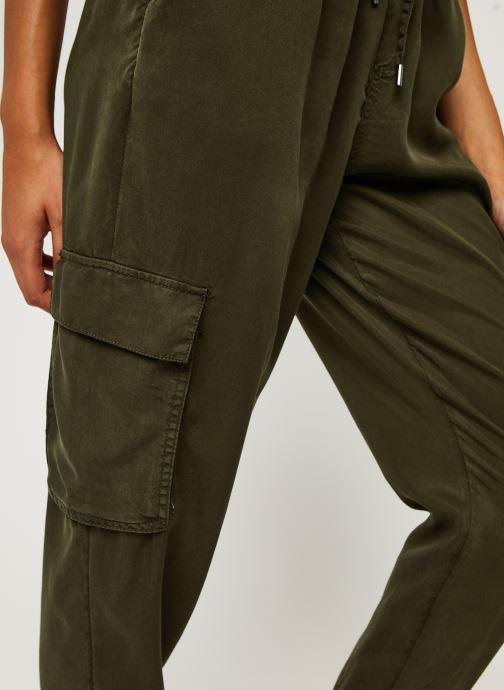 Vêtements Vila Vilisti Rwrx 7/8 Pants Vert vue face