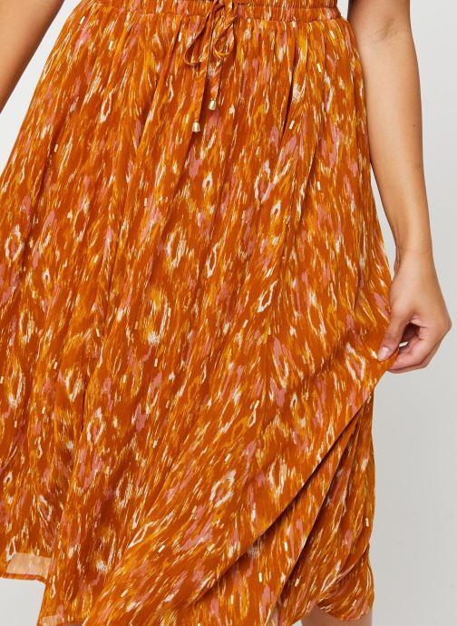 Vêtements Vila Visavina Lenoa Ancle Skirt Jaune vue face
