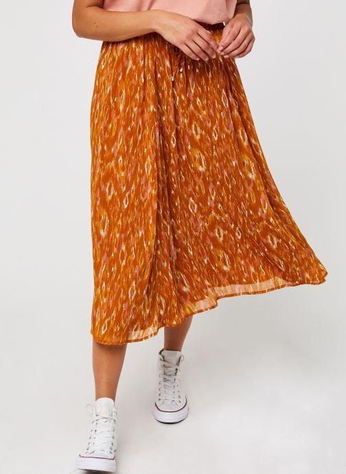 Vêtements Vila Visavina Lenoa Ancle Skirt Jaune vue détail/paire
