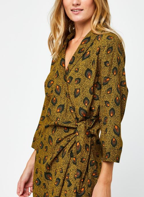 Vêtements Vila Vimacie Shiva 3/4 Dress Vert vue face