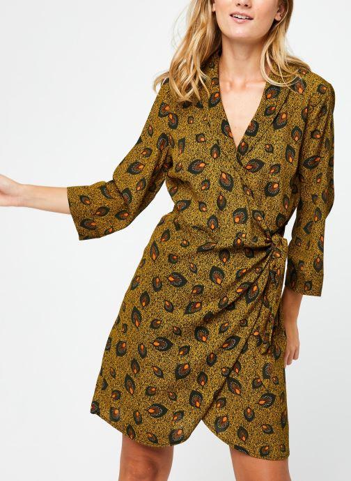 Vêtements Vila Vimacie Shiva 3/4 Dress Vert vue détail/paire
