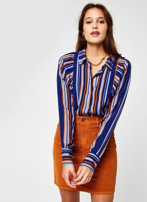 Vêtements Vila Vizita Rayu Shirt Bleu vue détail/paire