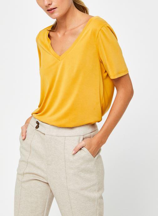 Kleding Accessoires Vimodala V-Neck T-Shirt