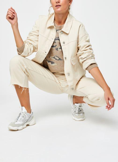 Vêtements Vila Vilidsi Knit Glitter O-Neck Top Beige vue bas / vue portée sac
