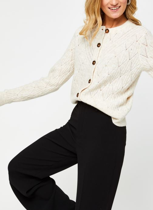 Gilet - Vicamera Knit O-Neck Button Cardigan