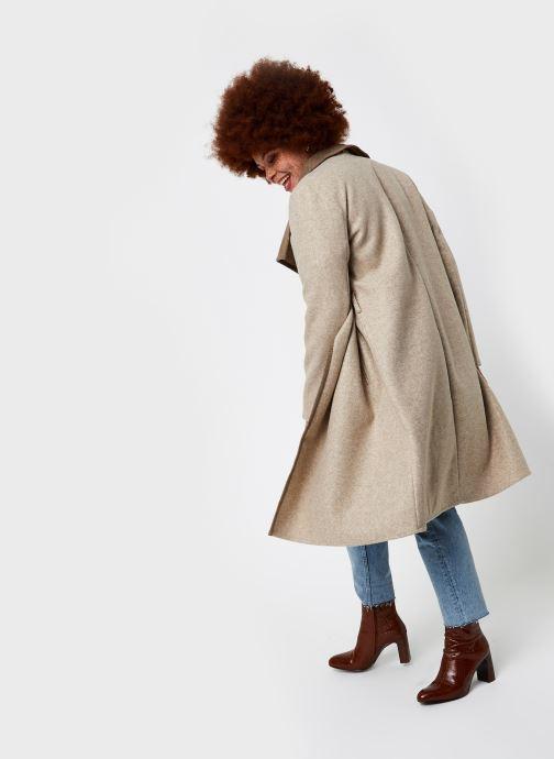 Vêtements Vila Vibias Coat Beige vue bas / vue portée sac