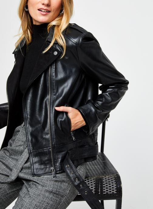 Ropa Vila Villow Leather Biker Jacket Negro vista de detalle / par