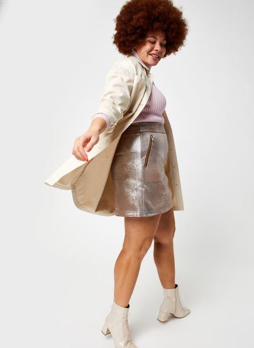 Vêtements Vila Vimallies Short Foil Skirt Argent vue bas / vue portée sac