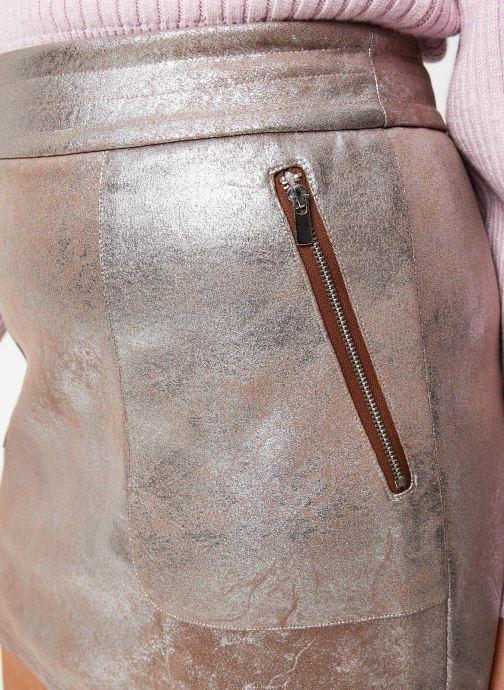 Vêtements Vila Vimallies Short Foil Skirt Argent vue face