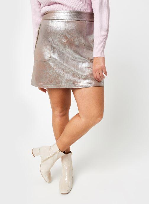 Vêtements Vila Vimallies Short Foil Skirt Argent vue détail/paire