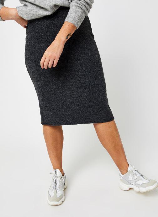 Vêtements Vila Vijeamine Knit Midi Skirt Gris vue détail/paire