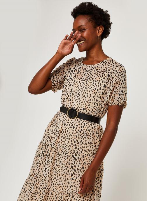 Vêtements Vila Vialtas Midi Dress Beige vue détail/paire