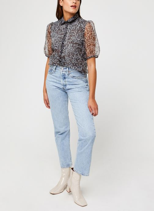 Vêtements Vila Vitaga Shirt Gris vue bas / vue portée sac
