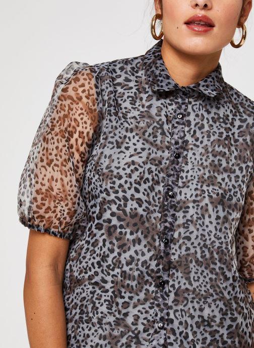 Vêtements Vila Vitaga Shirt Gris vue face
