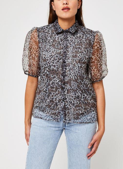 Vêtements Vila Vitaga Shirt Gris vue détail/paire