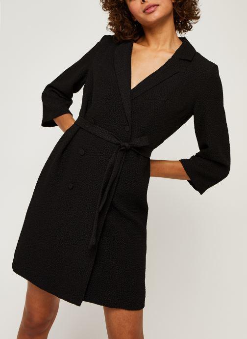 Vêtements Vila Vikota Blazer Noir vue détail/paire