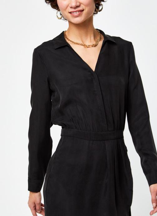 Kleding Vila Viraf Dress Zwart voorkant