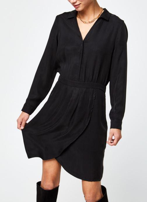 Kleding Vila Viraf Dress Zwart detail