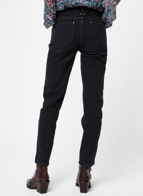 Vêtements Vila Vicrowi Jeans Noir vue portées chaussures