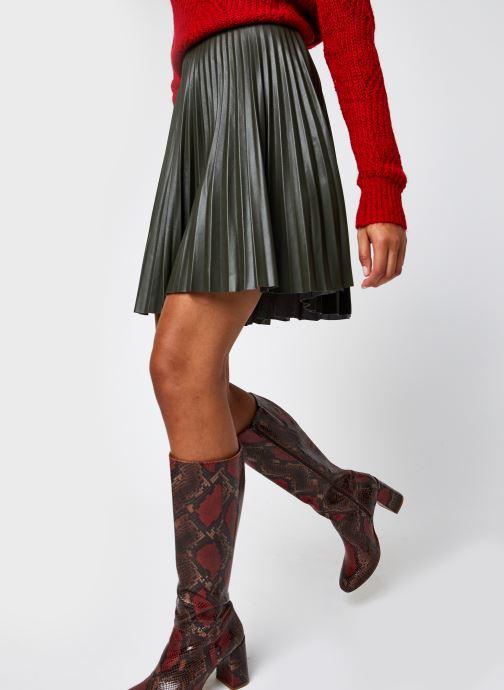 Jupe mini - Viaminna Pleated Short Coated Skirt