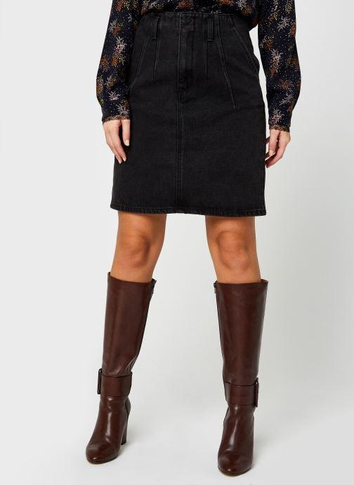 Vêtements Vila Viverbena Denim Skirt Gris vue détail/paire