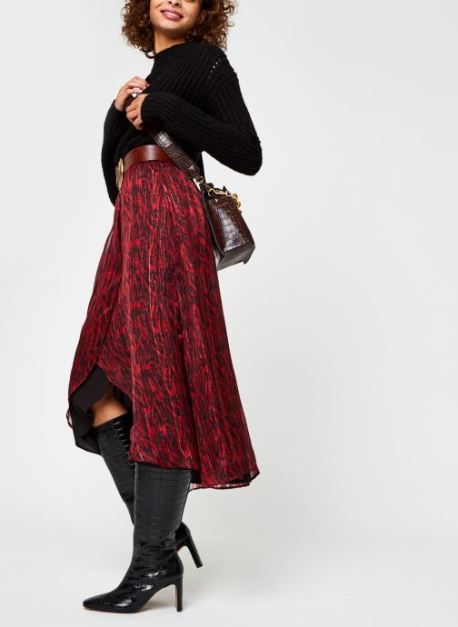 Vêtements Vila Virana Ancle Skirt Rouge vue bas / vue portée sac