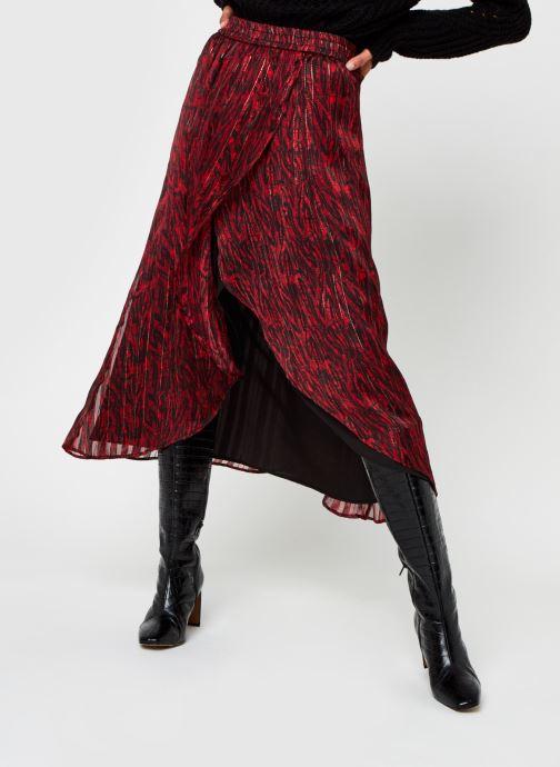 Vêtements Vila Virana Ancle Skirt Rouge vue détail/paire