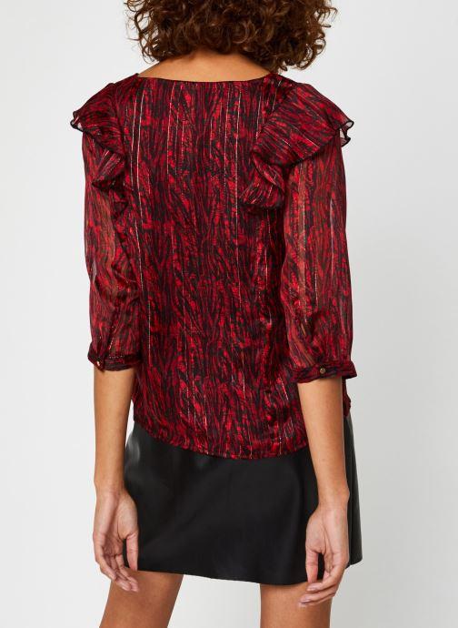 Kleding Vila Virana Sleeve Top Rood model