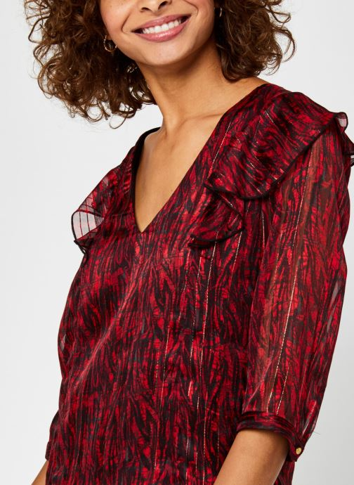 Kleding Vila Virana Sleeve Top Rood voorkant