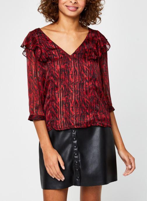 Kleding Vila Virana Sleeve Top Rood rechts