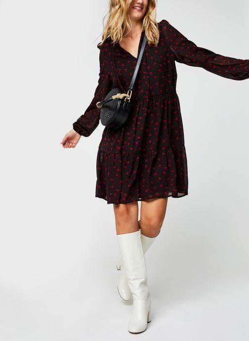 Vêtements Vila Viplisseamesy Dress Noir vue bas / vue portée sac