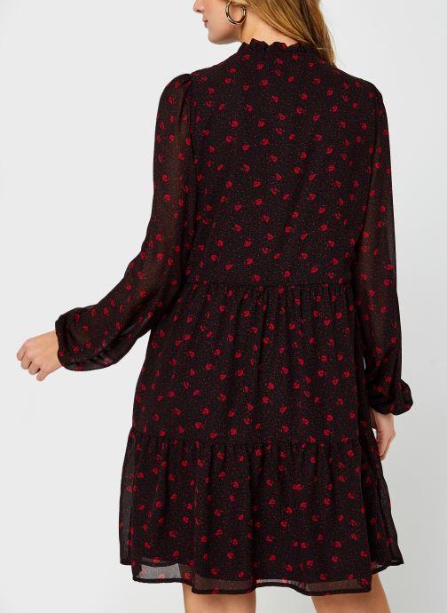 Vêtements Vila Viplisseamesy Dress Noir vue portées chaussures