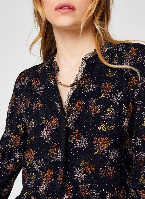 Vêtements Vila Viborine Lace Midi Dress Nattin Noir vue face