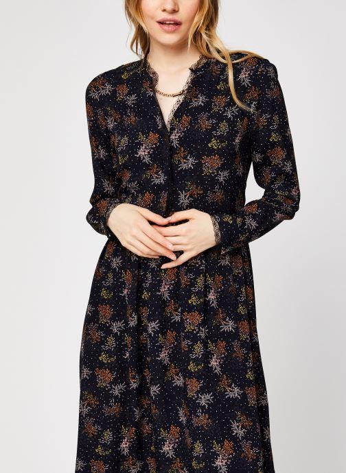Vêtements Vila Viborine Lace Midi Dress Nattin Noir vue droite