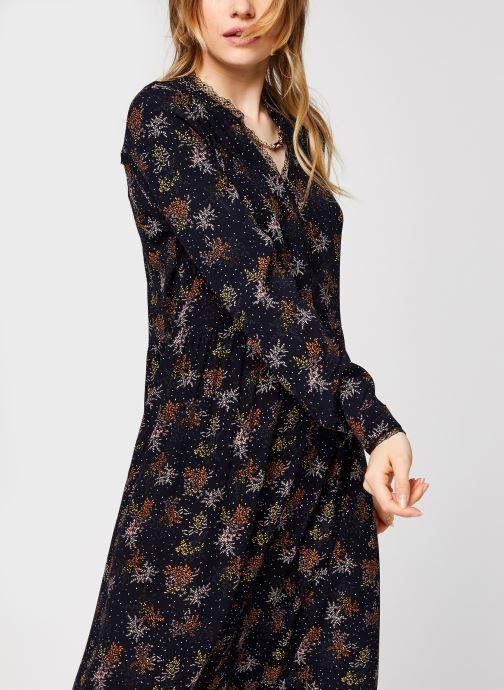 Vêtements Vila Viborine Lace Midi Dress Nattin Noir vue détail/paire