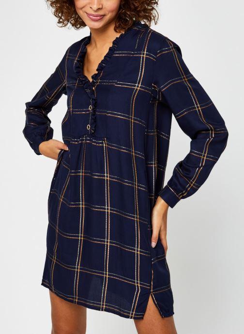 Vêtements Vila Vitrissy Dress Bleu vue détail/paire