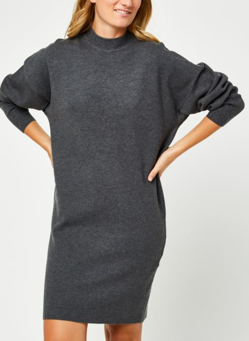 Violivinja Knit High Neck Dress