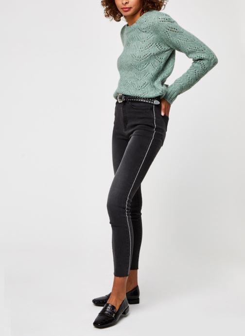 Vêtements Vila Viekko New Jeans Noir vue bas / vue portée sac