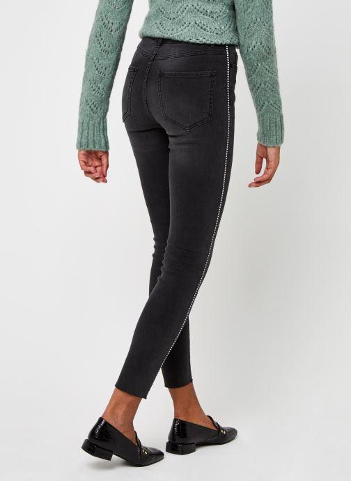 Vêtements Vila Viekko New Jeans Noir vue portées chaussures