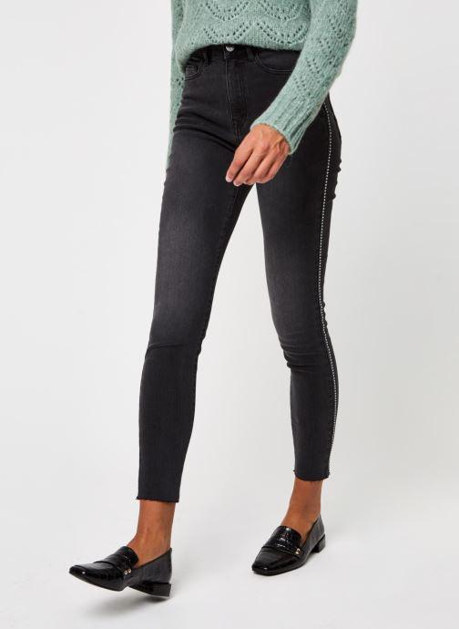 Vêtements Vila Viekko New Jeans Noir vue détail/paire