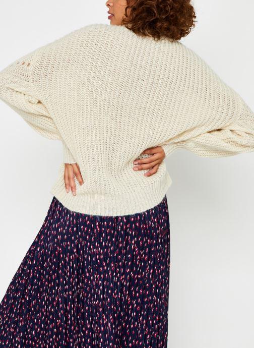 Kleding Vila Viremine Knit Top Wit model