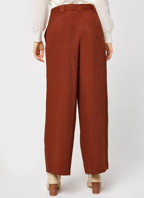 Vêtements Vila Vicalantha Wide Pants Marron vue portées chaussures