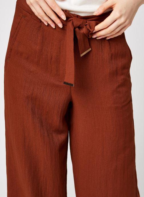 Vêtements Vila Vicalantha Wide Pants Marron vue face