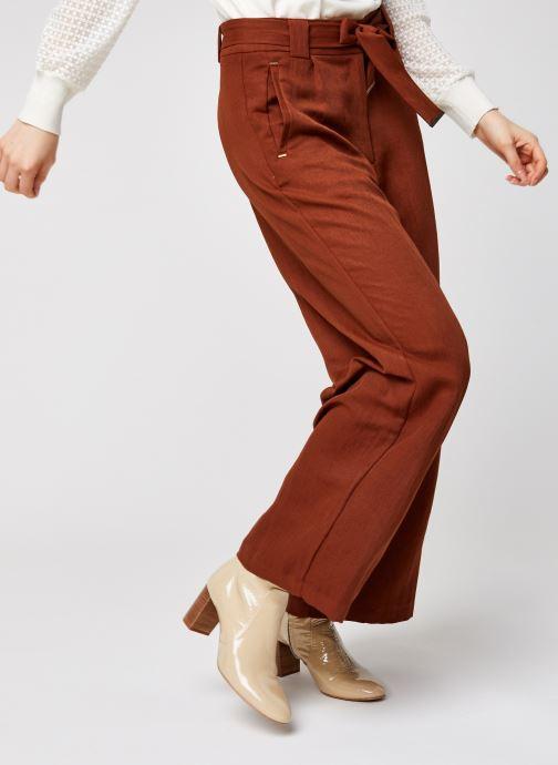Vêtements Vila Vicalantha Wide Pants Marron vue détail/paire
