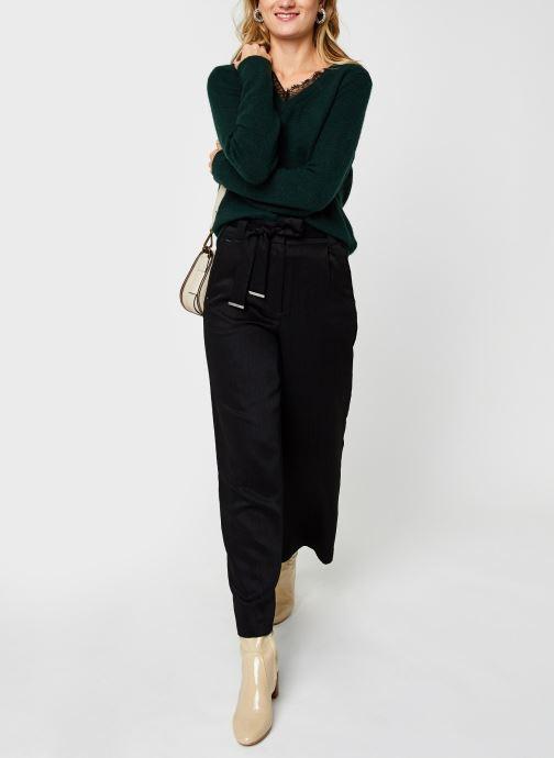 Vêtements Vila Vicalantha Wide Pants Noir vue bas / vue portée sac