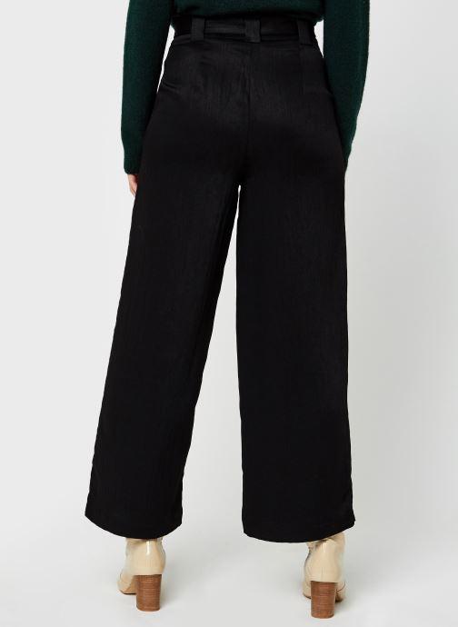 Vêtements Vila Vicalantha Wide Pants Noir vue portées chaussures