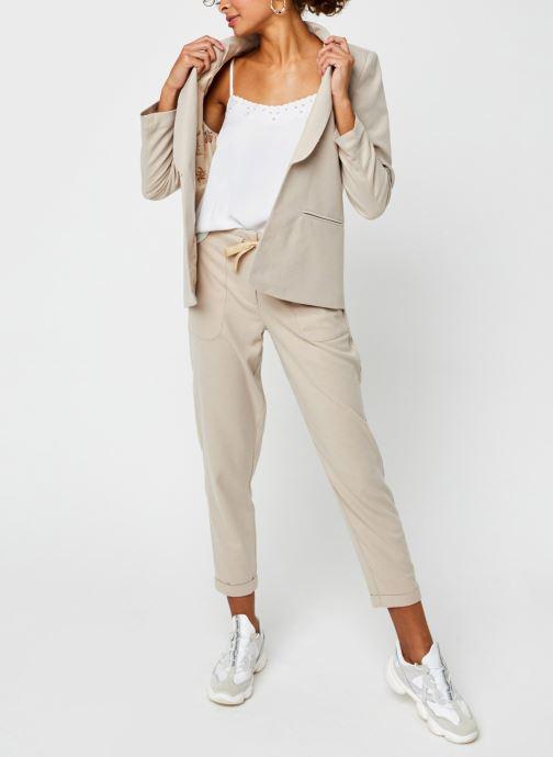 Vêtements Vila Vitwiggy Pocket Pant Beige vue bas / vue portée sac