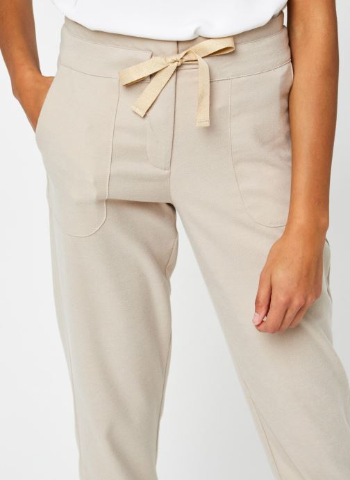 Vêtements Vila Vitwiggy Pocket Pant Beige vue face