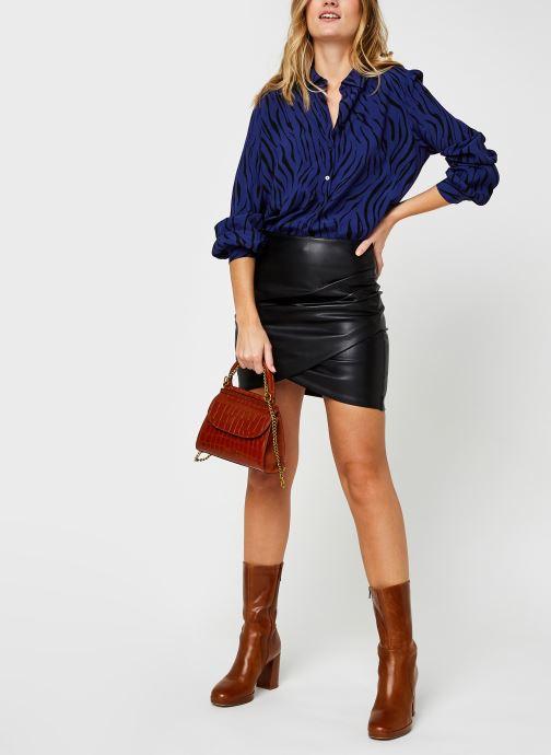 Vêtements Vila Visimozebba Shirt Bleu vue bas / vue portée sac